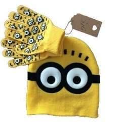 Minion Gloves Costume Accessory