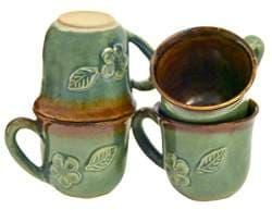 Brindle Boxer Tree-Free Greetings XM28034 John W 20-Ounce Golden Artful Jumbo Mug