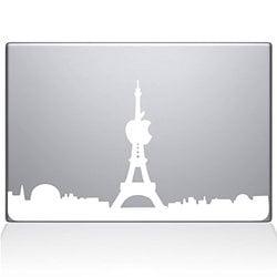 The Decal Guru 2070 MAC 15X W Paris City Skyline Decal Vinyl