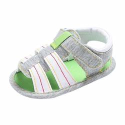 Voberry Summer Baby boys Kids Prewalker Shoes Toddler Soft Soled Anti-slip Tassel Sandals