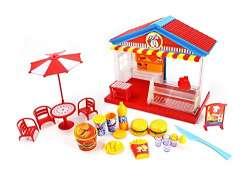 Buy Playmarket Play Food Mini Fast Food Restaurant Pretend Play