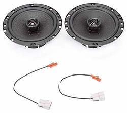 """Fits 2005-2007 Ford F-250//350//450//550 Front Doors 6/""""x8/"""" Speakers by Skar Audio"""
