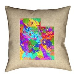 Artverse Katelyn Smith 20 X 20 Cotton Twill Double Sided Print With Concealed Zipper Insert Virginia Canvas Pillow Throw Pillows Home Kitchen