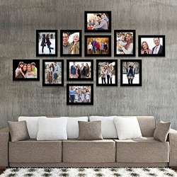 Frames Gallery Wall Collage Black
