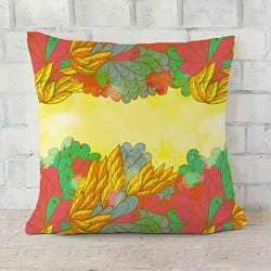 ArtVerse Katelyn Smith 26 x 26 Poly Twill Double Sided Print with Concealed Zipper /& Insert Pennsylvania Love Watercolor Pillow