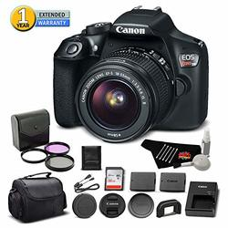 Canon Eos Rebel T6 Digital Slr Camera 1159c003 Bundle With