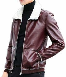 Gocgt Womens Faux Leather Zipper up Moto Biker Short Coat Jacket