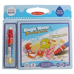 Water Drawing Books Painting Writing Board Mat Magic Pen for Kids Baby Toys Gift