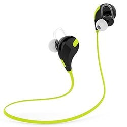 Buy Wockeez Wireless Bluetooth Sports Headset With Mic For Iphones Ipads Samsung And Other Android Devices Green Features Price Reviews Online In India Justdial