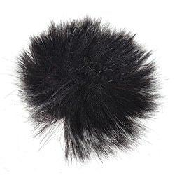 3-Pack Walmeck Furry Outdoor Microphone Windscreen Muff Mini Lapel Lavalier Microphone Windshield