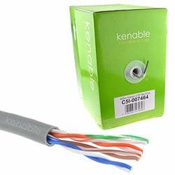 kenable Ethernet Cable Reel Network LAN UTP CAT5e-CCA Solid 305m ~1000 feet