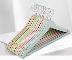 2 Count Lillian Rose Baby Cloth Hangers 12 Pink