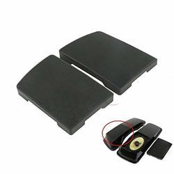 FidgetGear Car Universal 2 52mm Black Shell Digital Blue LED Oil Press Pressure Gauge PSI