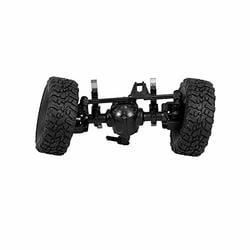Festnight JJR//C Rear Bridge Axle Shaft Assembly w// Tire Wheel for Q60 1//16 RC Off-Road Crawler Military Truck Army Car