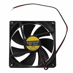Cooler Fan for General NIDEC 808025mm D08K-24TU 24V 0.13A 3Wire 8cm Cooling Fan