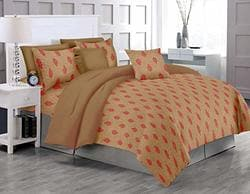 Buy Trance Home Linen 100 Cotton Queen Duvet Cover Set With