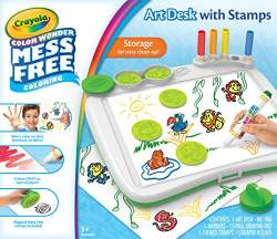 Crayola Color Wonder Mess Free Bundle Color Wonder Mess Free Art Desk Color Wonder Mess Free Pastel Markers 10 Count
