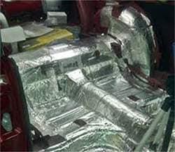 2007-Present Mitsubishi Lancer Ev 10 - Floor Hushmat 650101 Sound and Thermal Insulation Kit
