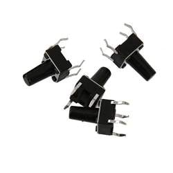 9mmx3.4mm Flat Button Vibrating Motor DC 3V 10000RPM for Cellphone