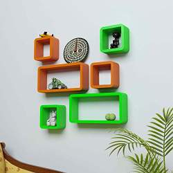 Floating Wall Shelves Hanging Shelf Display Wood Book Shelf 60 15cm