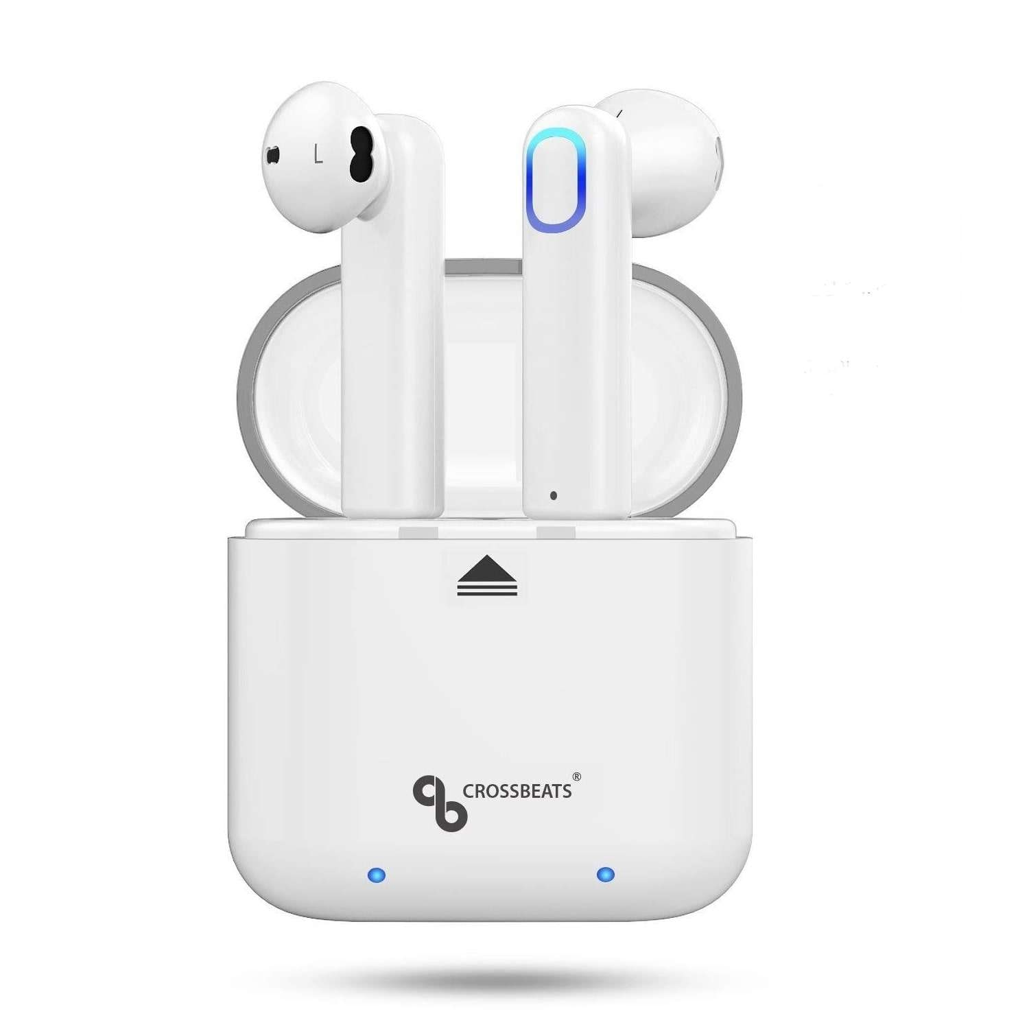 Buy Crossbeats Aero Airpods True Wireless Earbuds Dual Bluetooth Headset With Mic Features Price Reviews Online In India Justdial