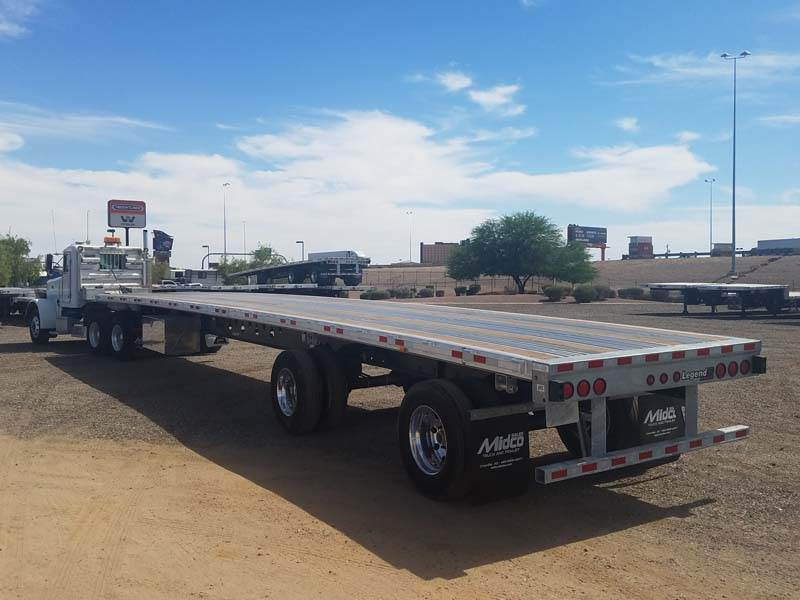 Flat Bed Trailer at Best Price - Flat Bed Trailer by SMS Industries in  Mumbai - Justdial