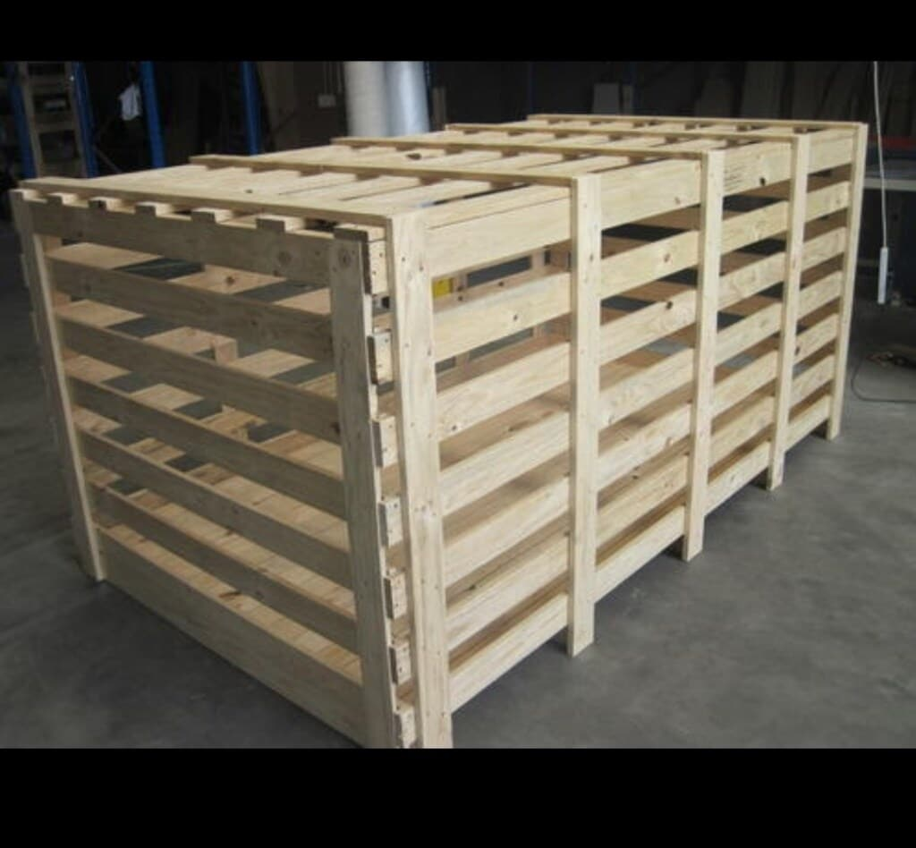 Heavy Duty Wooden Crates by Saini Wooden Packers in Mumbai