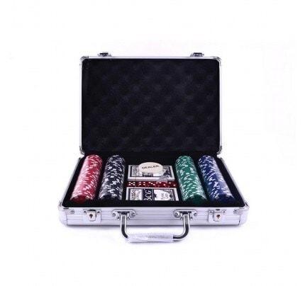 Poker Chip Game Set At Best Price Poker Chip Game Set By Kids Kingdom In Wishlist Justdial