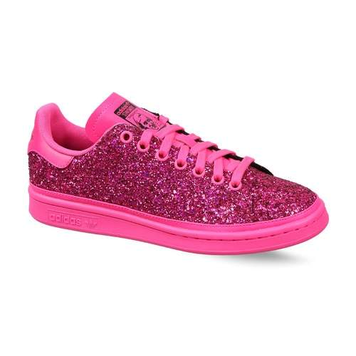 Centralizar Surgir Pensativo  Buy Adidas Womens Originals Stan Smith Shoes (Pink, Collegiate Purple),  Features, Price, Reviews Online in India - Justdial