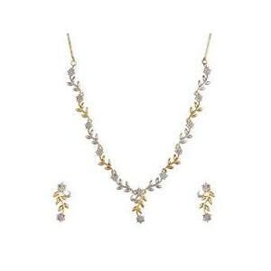American Diamond Necklace Set At Best Price American Diamond Necklace Set By Jain Sapphire Traders In Mumbai Justdial