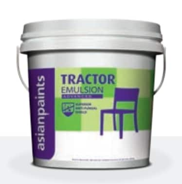 Buy Asian Paints Tractor Emulsion Advanced Paint 20 Litres Features Price Reviews Online In India Justdial