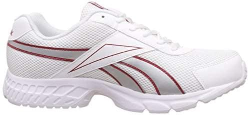 Acciomax LP White and Red Running Shoes