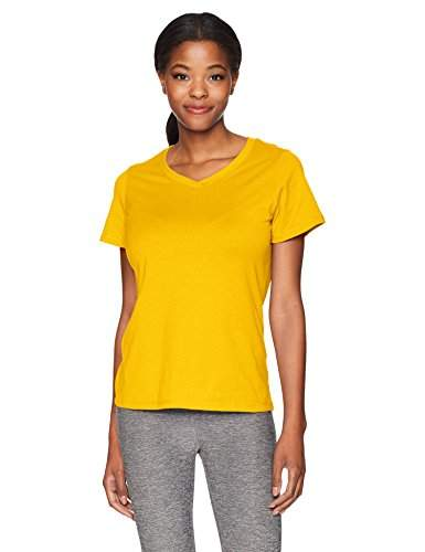 Champion Womens Short Sleeve Double Dry Performance Cotton Tee