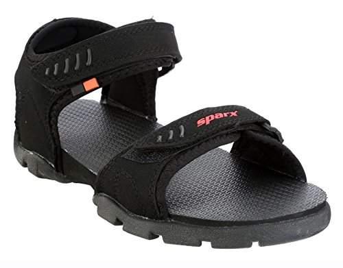 Buy Sparx Women's Black Fashion Sandals