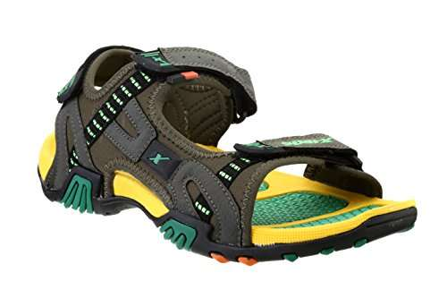 Buy Sparx Men S Olive And Yellow Athletic Amp Outdoor Sandals 10 Uk India 44 Eu Ss 0452 Features Price Reviews Online In India Justdial