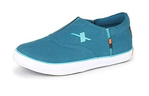 Blue Canvas Sneakers (SM-255