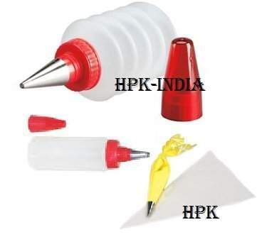 Buy Hpk Full Perfect Cake Decorating And Icing Piping Nozzle Set Kit With All Required Accessories Features Price Reviews Online In India Justdial