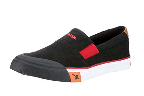 Black \u0026amp; Red Casual Shoes (SM-292