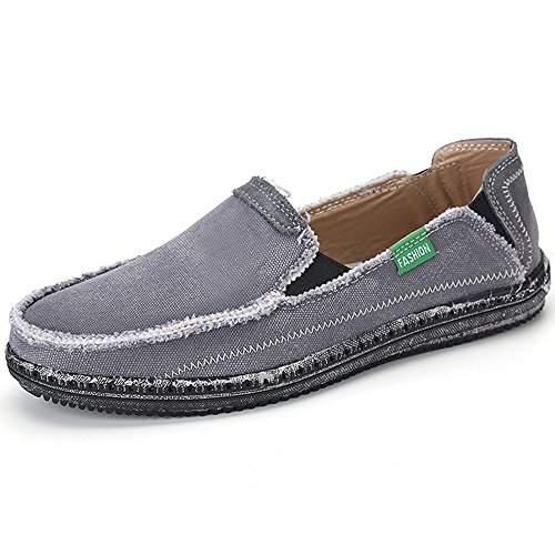 Buy VILOCY Men's Slip on Deck Shoes
