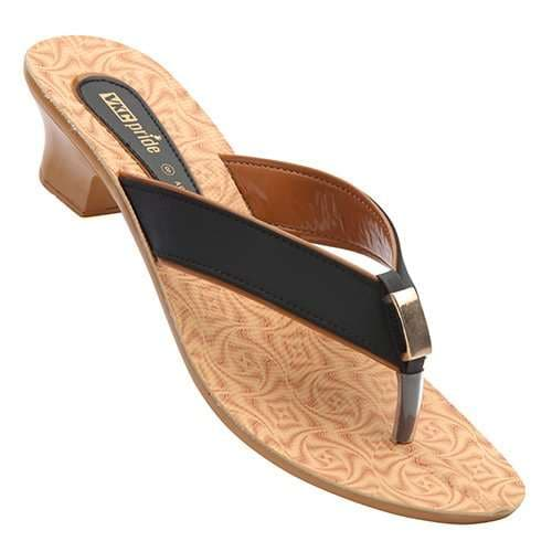 Buy Vkc Pride Women S Black Sandal 7 Features Price Reviews Online In India Justdial