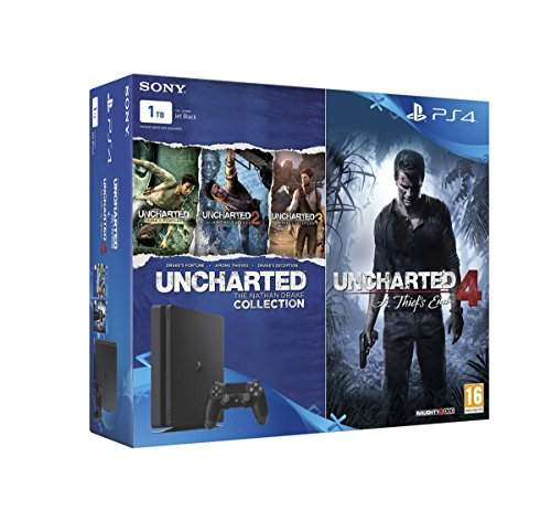 Buy Sony Ps4 1 Tb Slim Console Free Games Uncharted 4 Amp