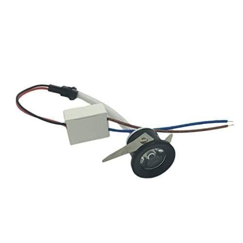 1W Mini LED Warm//White Spotlight Cabinet Ceiling Spot Flood Lamp Jewelry ligh/_ZZ