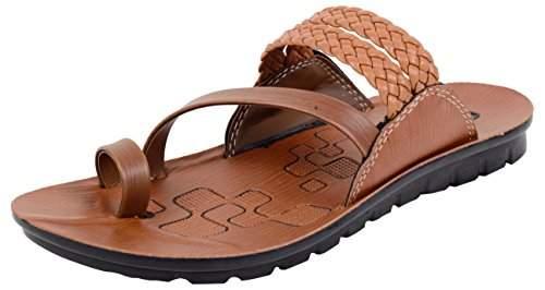 Buy Vkc Pride Men S Tan Outdoor Sandals 9 Uk Features Price Reviews Online In India Justdial