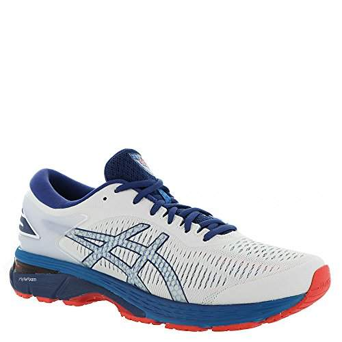 papelería Asociar Proporcional  Buy ASICS Men's Gel-Kayano 25 Running Shoe White/Blue Print 10 D(M) US,  Features, Price, Reviews Online in India - Justdial