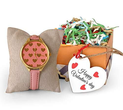 Buy Tied Ribbons Valentine Gift For Women Her Lover Girl Girlfriend Wife Women S Wrist Watch With Wooden Tag Features Price Reviews Online In India Justdial