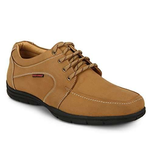 Buy Red Chief Men's Rust Leather Formal