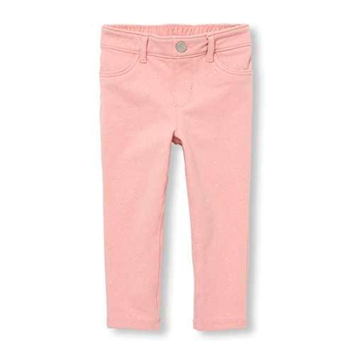The Childrens Place Baby Girls Solid Colored Jeggings