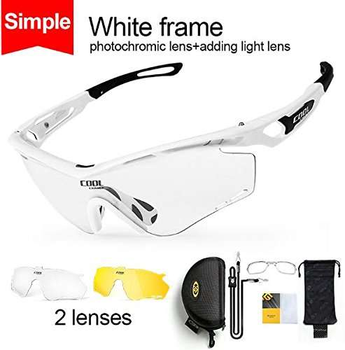 Buy Simple White : CoolChange Men Women Photochromic Cycling Glasses  Polarized Running Sunglasses Driver Sports Goggles Night Vision Sunglasses,  Features, Price, Reviews Online in India - Justdial