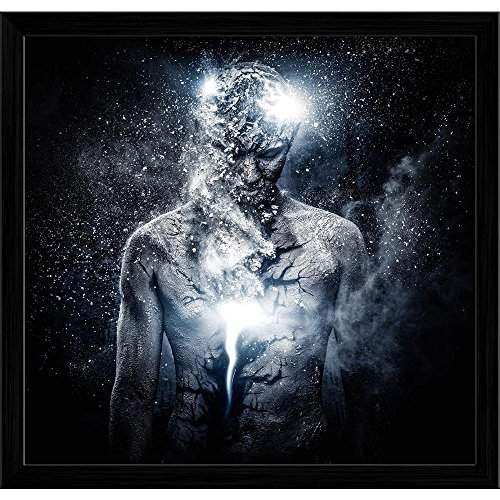 Buy Pitaara Box Man With Conceptual Spiritual Body Art Canvas Painting Black Frame 19 9 X 19 Features Price Reviews Online In India Justdial
