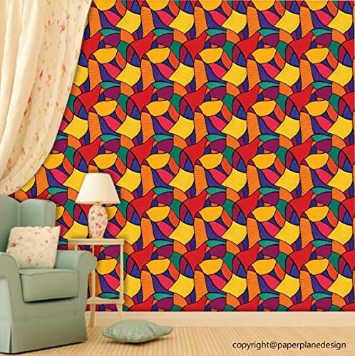 Buy Paper Plane Design Kitchen Cafe Restaurant Theme Wallpaper Roll Pvc Vinyl 41 Cm X 615 Cm Multicolour Features Price Reviews Online In India Justdial
